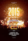 2015 NYE Party Flyer Template