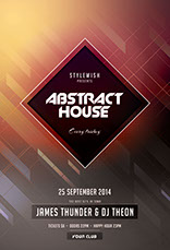 Abstract House Flyer Template
