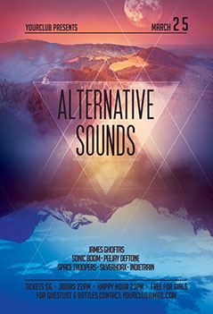 Alternative Sounds Flyer