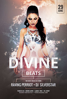 Divine Beats Flyer Template