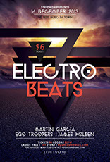 Electro Beats Party Flyer