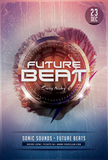 Future Beat Flyer Template
