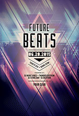 Future Beats Flyer Template