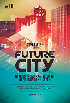 Future City Flyer Template