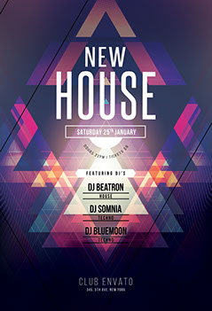 New House Flyer Template
