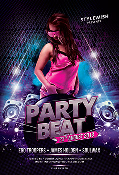 Party Beat Flyer Template