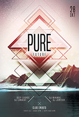 Pure Future Flyer Template