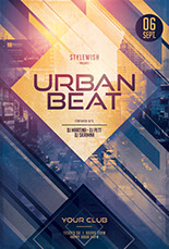 Urban Beat Flyer Template