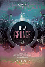 Urban Grunge Flyer Template