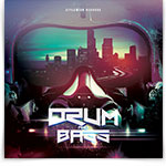 Drum and Bass CD Cover Artwork