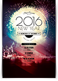 2016 New Year Party Flyer