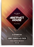 Abstract House Flyer