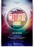 Autumn Groove Flyer