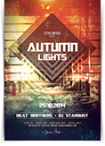 Autumn Lights Flyer
