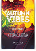 Autumn Vibes Flyer