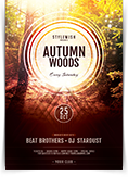 Autumn Woods Flyer