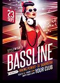 Bassline Flyer