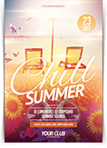 Chill Summer Flyer