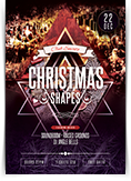 Christmas Shapes Flyer