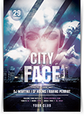 City Face Flyer