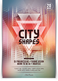 City Shapes Flyer