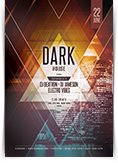 Dark House Flyer