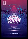 Electro Bass Flyer