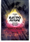 Electro Future Party Flyer
