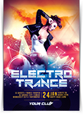 Electro Trance Party Flyer