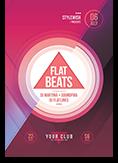 Flat Beats Flyer