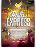 Indie Express Flyer