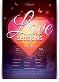 Love Sessions Flyer