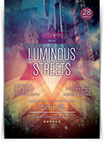 Luminous Streets Flyer