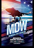 Memorial Day Weekend Flyer