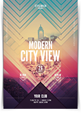 Modern City View Flyer