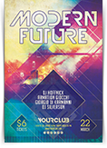 Modern Future Party Flyer