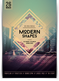 Modern Shapes Flyer
