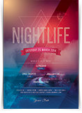 Nightlife Flyer