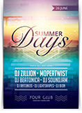 Summer Days Flyer