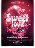 Sweet Love Flyer