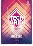Tech Grid Flyer