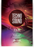 Techno Sound Flyer