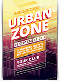 Urban Zone Flyer