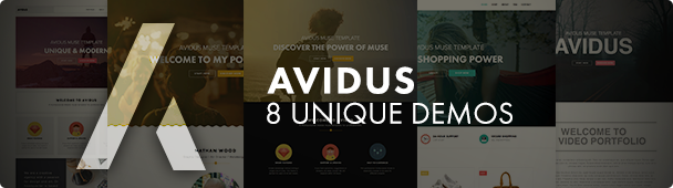Avidus Muse Template