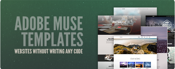 Adobe Muse Template