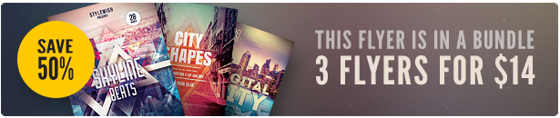 City Party Flyer Bundle Vol.04