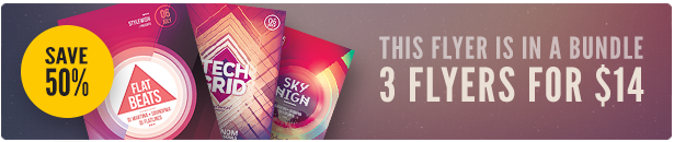 Geometric Flyer Bundle Vol.05