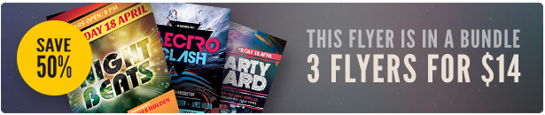 Party Flyer Bundle Vol23
