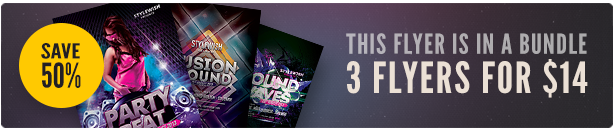 Party Flyer Bundle Vol9