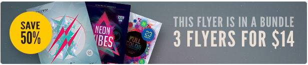 Party Flyer Bundle 3